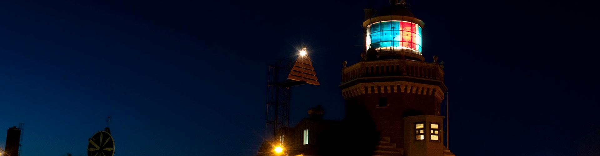 Fyr i Helsingborgs hamn