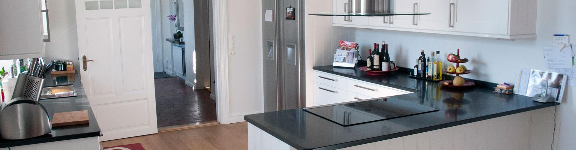 Interiörbild på kök