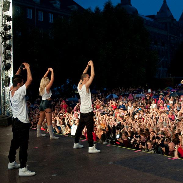 Livekonsert Helsingborgsfestivalen
