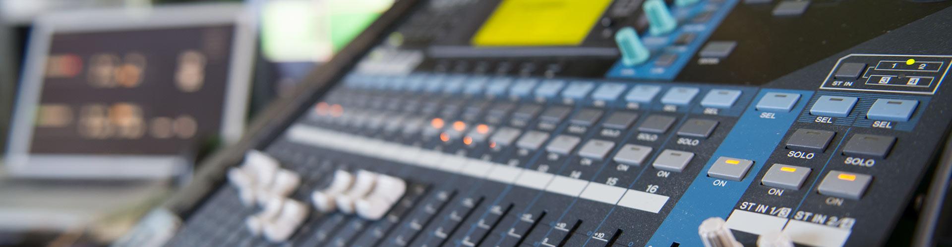 Mixerbord för ljud