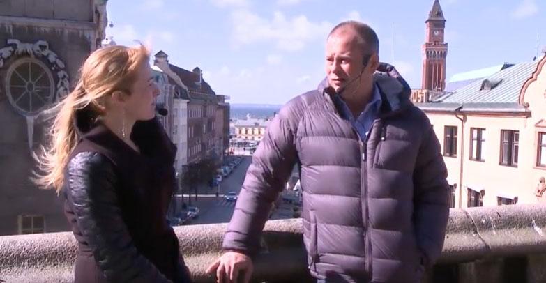 Intervju om källkritik vid kriser