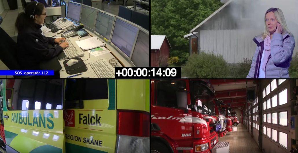 SOS 112 - Vad händer under ett nödsamtal